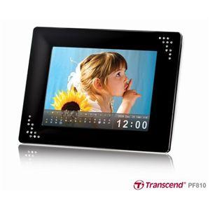 Transcend(トランセンド) 8インチ デジタルフォトフレーム TS2GPF810K - 拡大画像