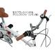 MYPALLAS(マイパラス) 折り畳み自転車 M-09 16インチ シマノ6段ギア リアサス ホワイト - 縮小画像3