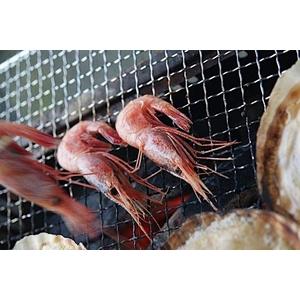 北海道BBQ大満足セット+北海甘エビ0.5kg付き(4人前〜6人前) - 拡大画像