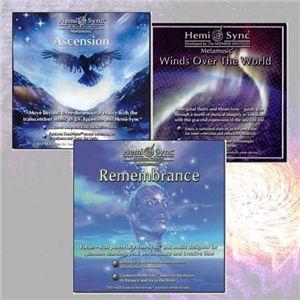 ヘミシンク CD 入門用3枚組 - 拡大画像