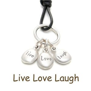 DOGEARED WORD JEWELS/LIVE・LOVE・LAUGH - 拡大画像