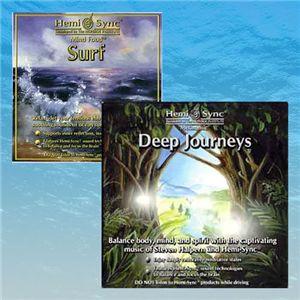 ヘミシンク CD リラックスセット - 拡大画像