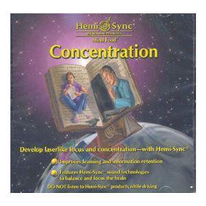 ヘミシンク CD 『Concentration』 - 拡大画像