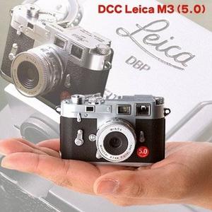 往年の名機ライカM3をミニチュアサイズで再現☆DCC Leica(ライカ) M3(5.0) - 拡大画像