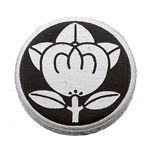 家紋カフス 16/丸に橘