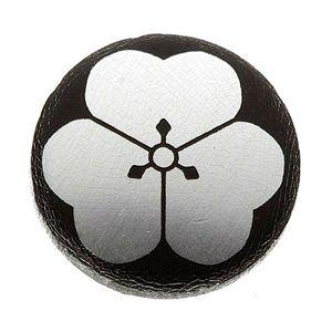 家紋カフス 40/片喰 - 拡大画像