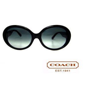 Coach(コーチ) サングラス S780A スモークグラデーション×ブラック - 拡大画像