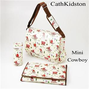 Cath Kidston マザーバッグ NAPPYBAG MINI COWBOY - 拡大画像