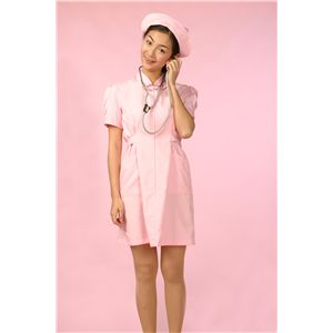 【コスプレ】 白衣の天使 ピンク M 4562135684723 - 拡大画像