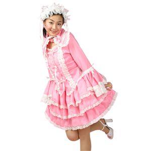 スイートドレス(チュールメイド)ピンク/白 M - 拡大画像