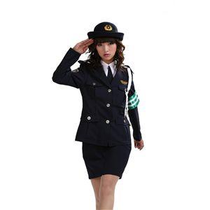 【コスプレ】 DX婦警 紺 Men's 4562135687212 - 拡大画像