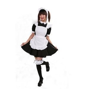【コスプレ】 リズカフェ 黒 L 4562135695149 - 拡大画像