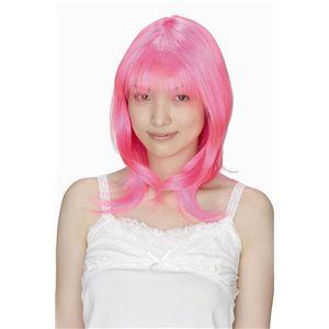 candy キャンディピンクセミロング - 拡大画像