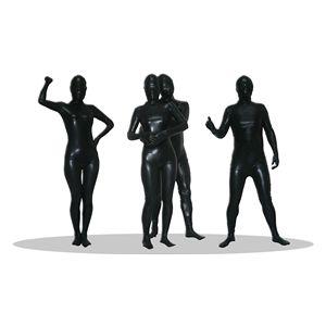 【コスプレ】 透明人間 コーティング 黒(M) 4571142461623 - 拡大画像