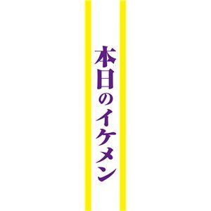 宴会タスキ/コスプレ衣装 【本日のイケメン】 ポリエステル100% 〔イベント パーティー〕 - 拡大画像