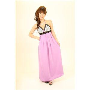 ナイトドレス 水玉 ピンク - 拡大画像