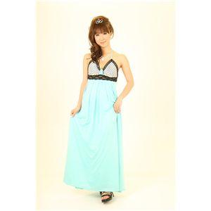 ナイトドレス 水玉 緑 - 拡大画像