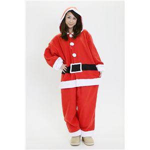 【コスプレ】 【クリスマスコスプレ】サンタクロース 着ぐるみ - 拡大画像