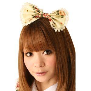 【コスプレ】 Cream doll ホワイトブルームカチューシャ×2個 4560320825524 - 拡大画像