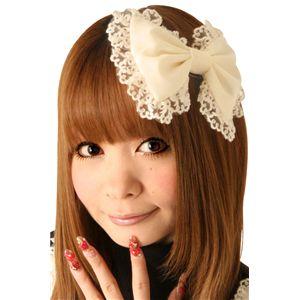 【コスプレ】 Cream doll ホイップクリームバレッタ×2個 - 拡大画像