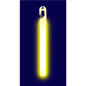 【コスプレ】 ルミカライト 大閃光<イエロー> 発光体12本入 4967574350855 - 拡大画像