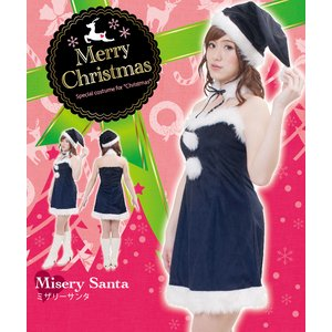 【クリスマスコスプレ】ミザリーサンタ Ladies 4560320827429 - 拡大画像