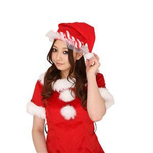【クリスマスコスプレ】チュチュサンタ帽子 【3セット】 4560320834328 - 拡大画像