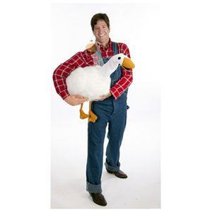 【ハロウィンコスプレ】 Big Fat Goose arm puppet & shirt costume(大きなアヒルのアームパペット)※専用シャツ付き 895104002155 - 拡大画像