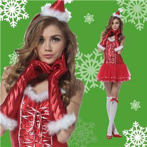 【クリスマスコスプレ 衣装】マジカルサンタキャンディリボン 4560320844129 - 拡大画像
