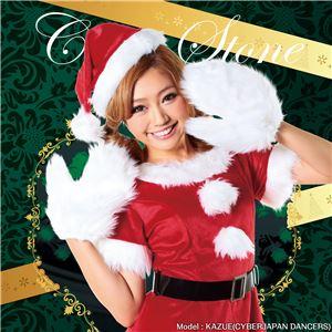 【クリスマスコスプレ 衣装】キャンディサンタ 4571142469230 - 拡大画像