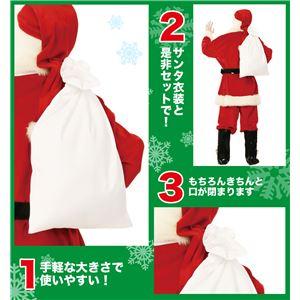 クリスマスコスプレ/衣装 【サンタさんの袋】 ポリエステル 〔イベント パーティー〕