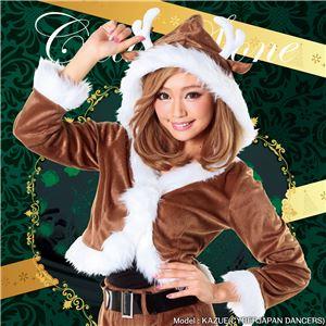 【クリスマスコスプレ 衣装】ショコラトナカイ 4571142469346 - 拡大画像