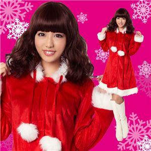 【クリスマスコスプレ 衣装】ダイアナサンタ 4560320827375 - 拡大画像