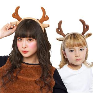 【クリスマスコスプレ 衣装】トナカイカチューシャ 茶 4571142461258 - 拡大画像