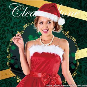 【クリスマスコスプレ 衣装】パーティーサンタ レッド 4571142469193 - 拡大画像