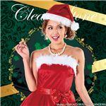 【クリスマスコスプレ 衣装】パーティーサンタ レッド 4571142469193