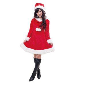 【クリスマスコスプレ】ラブリボンサンタ 4560320834182 - 拡大画像