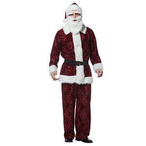 【クリスマスコスプレ】レッドレオパードサンタ 4560320844174 - 拡大画像