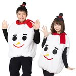 【クリスマスコスプレ 衣装】モコモコスノーマン UNISEX
