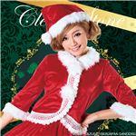 【クリスマスコスプレ 衣装】ニットレースジャケットサンタ Ladies
