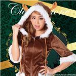 【クリスマスコスプレ 衣装】ハッピートナカイ Ladies