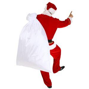 クリスマスコスプレ/衣装 【サンタ袋 特大】 ポリエステル 〔イベント パーティー〕 - 拡大画像