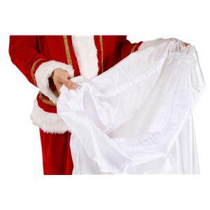 クリスマスコスプレ/衣装 【サンタ袋 特大】 ポリエステル 〔イベント パーティー〕
