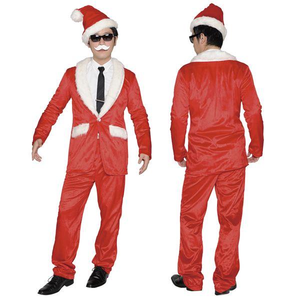スーツ風のサンタ衣装・スタイリッシュサンタ