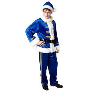 クリスマスコスプレ/衣装 【サンタプリンス】 メンズ180cm迄 ポリエステル 〔イベント パーティー〕