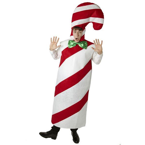 クリスマス おもしろ仮装「キャンディマン」
