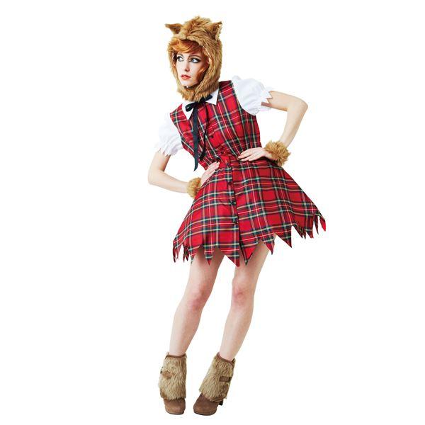 ハロウィン 狼女衣装 ウルフガール