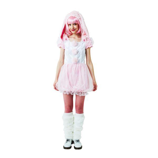 ピンクのたれ耳うさぎ・コスプレ衣装「モンスターラビット」