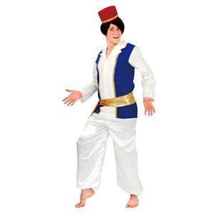 ハロウィンコスプレ 【アラビアンプリンス】 帽子 ベスト付きシャツ 腰帯 パンツ付き ポリエステル 〔イベント〕 - 拡大画像