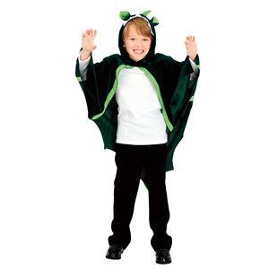 ハロウィンコスプレ 【ドラゴンマント】 前開き面ファスナー仕様 ポリエステル 〔イベント〕